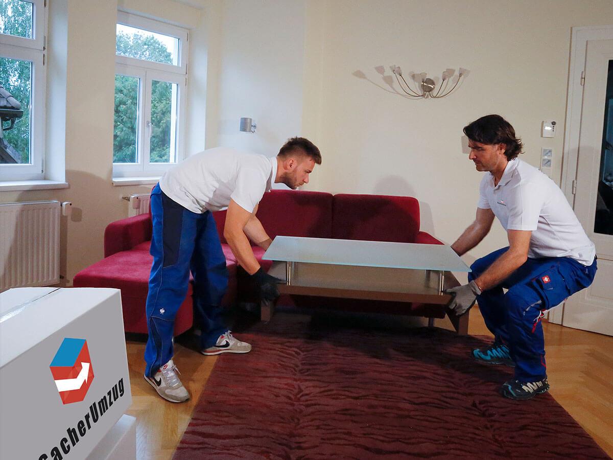 Umzug Wien - Möbel ab- und wieder aufbauen kinderleicht mit Sacher Umzug