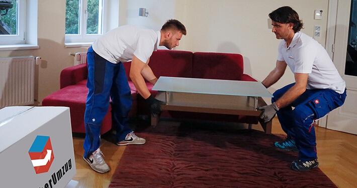 Unser Service für Sie: Wir bauen Ihre Möbel ab und wieder auf