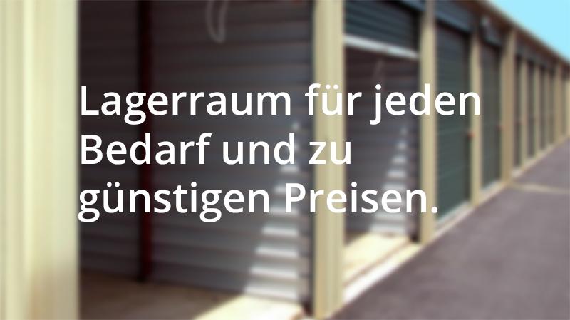 Lagerraum mieten in Wien